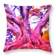 The Giving Tree 3 Throw Pillow