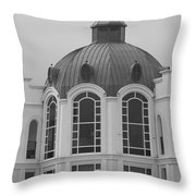 The Glass And Brass Tower Throw Pillow