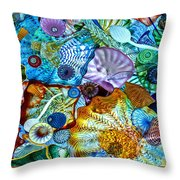 The Glass Ceiling Throw Pillow