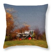 The Gleaner In Repose Throw Pillow