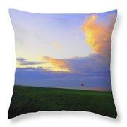 The Glen Golf Club Hole #15 Throw Pillow
