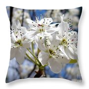 The Glory Of Spring Throw Pillow