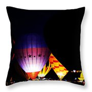 The Glowing Throw Pillow