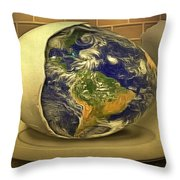 The God's Egg Throw Pillow
