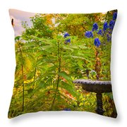 The Gods Look On Throw Pillow