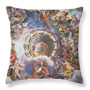 The Gods Of Olympus Throw Pillow