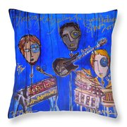 The Gogolab Painted Live  Throw Pillow