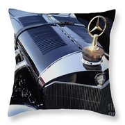 The Gold Star Throw Pillow