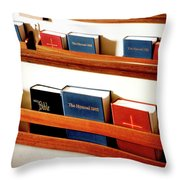 The Good Books Throw Pillow