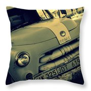 The Good Old Days On Route66 Throw Pillow