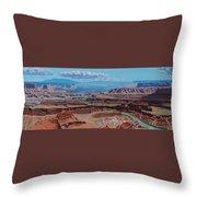 Dead Horse Point, Moab Utah Throw Pillow