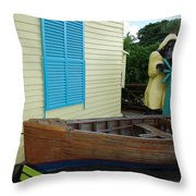 The Gordons Fisherman House Throw Pillow