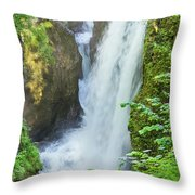 The Gorges Of The Langouette - 4 Throw Pillow
