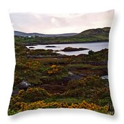 The Gorse It Was Abloomin Throw Pillow