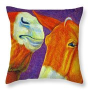 The Gossip Throw Pillow