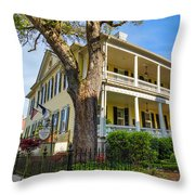 The Governor's House Inn Throw Pillow