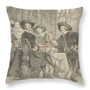 The Governors Of The Longbow Archers Throw Pillow