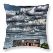 The Grain Barn Throw Pillow