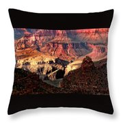 The Grand Canyon I Throw Pillow