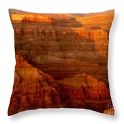The Grand Canyon West Rim Throw Pillow