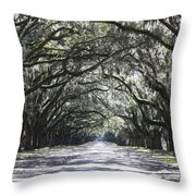 The Grand Lane Throw Pillow