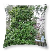 The Grand Magnolia Throw Pillow