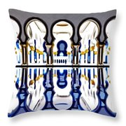 The Grand Mosque Throw Pillow
