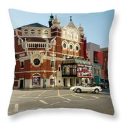 The Grand Opera House On Great Victoria Street, Belfast Throw Pillow
