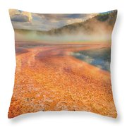 The Grand Prismatic Throw Pillow