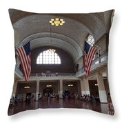 The Grand Registry Room Throw Pillow