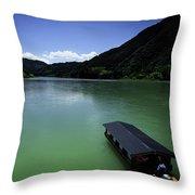 The Grand Shimanto Throw Pillow