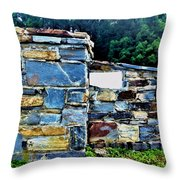 The Grateful Stone Wall Throw Pillow