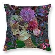Fugitive From Society Throw Pillow