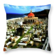 The Grave Throw Pillow