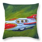 The Great Adventure Throw Pillow