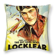 The Great Air Robbery 1919 Throw Pillow