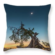 The Great American Eclipse On August 21 2017 Throw Pillow
