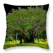 The Great Banyan Throw Pillow