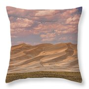 The Great Colorado Sand Dunes  177 Throw Pillow