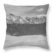 The Great Colorado Sand Dunes  Throw Pillow