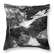 The Great Divide Bw Throw Pillow