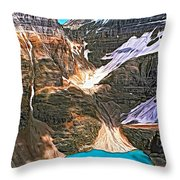 The Great Divide - Paint Throw Pillow