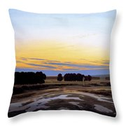 The Great Enclosure Near Dresden Throw Pillow