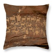 The Great Hunt Throw Pillow