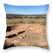 The Great Kiva Throw Pillow