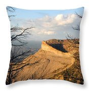 The Great Mesa Throw Pillow