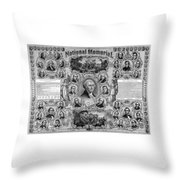 The Great National Memorial Throw Pillow