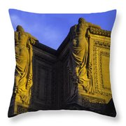 The Great Palace Of Fine Arts Throw Pillow