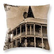 The Great Pine Cone Drop Throw Pillow