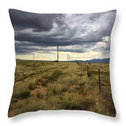 The Great Plains Of New Mexico Throw Pillow